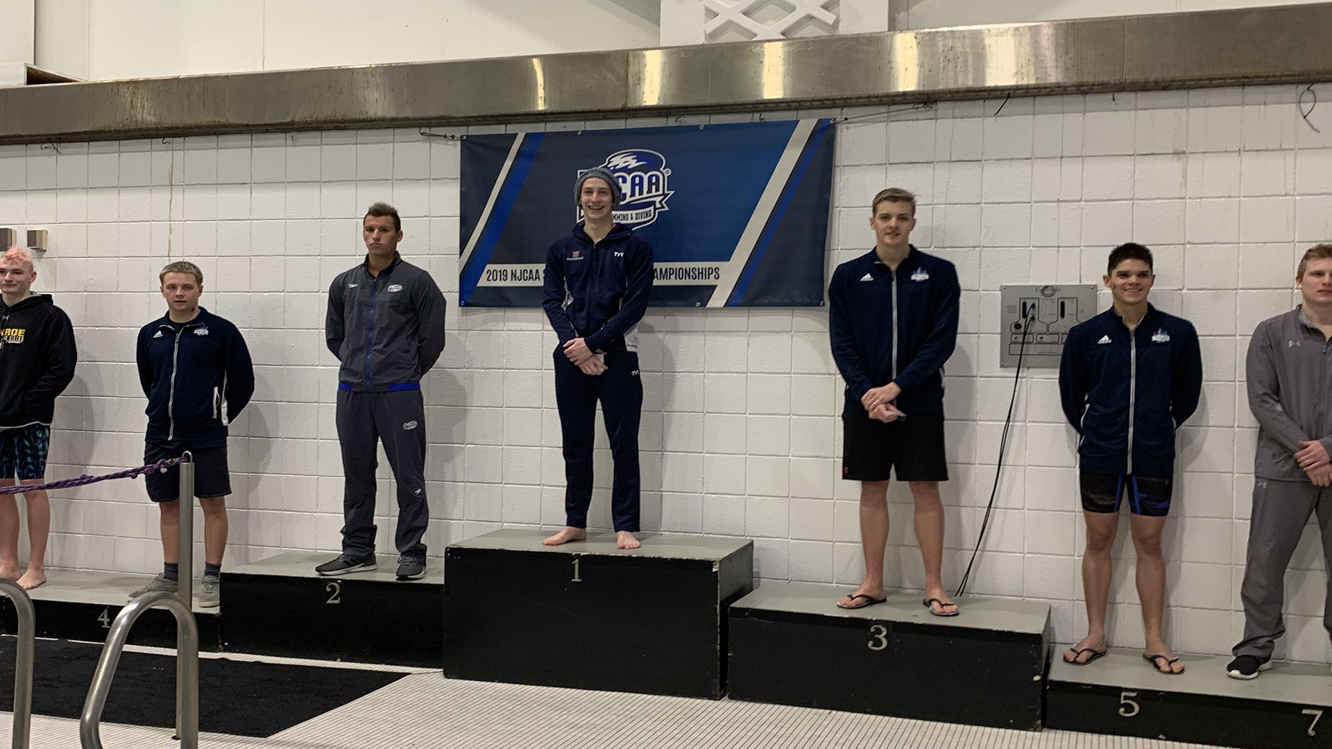 8ba0100371 McGuire Wins NJCAA National Title in 1650 Freestyle - Southwestern ...